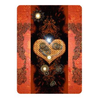 Steampunk 14 Cm X 19 Cm Invitation Card