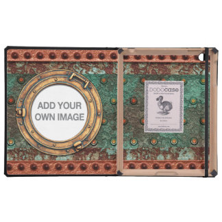 Steampunk 1 Porthole DODO iPad Folio Case