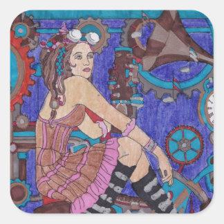 Steampunk #3 Sticker