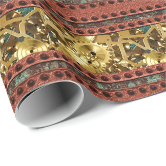 Steampunk 4 Wrapping Paper
