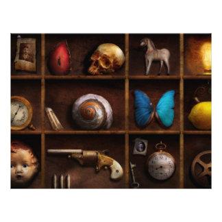 Steampunk - A box of curiosities Custom Flyer