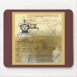 SteamPunk ~ A Tap On The Head Mousemats