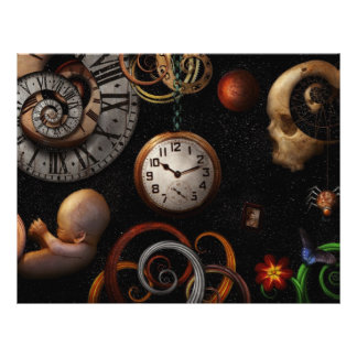 Steampunk - Abstract - The beginning and end Personalized Flyer