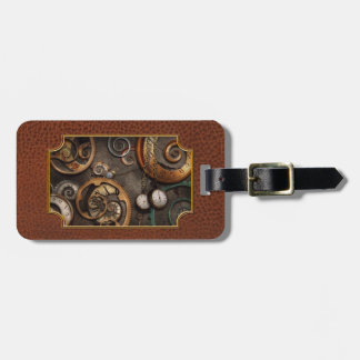 Steampunk - Abstract - Time is complicated Bag Tag