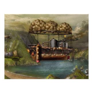 Steampunk - Airship - The original Noah's Ark 21.5 Cm X 28 Cm Flyer