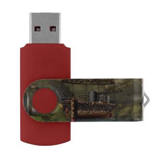 Steampunk - Airship - The original Noah's Ark Swivel USB 2.0 Flash Drive