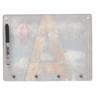 Steampunk - Alphabet - A is for Adventure Dry Erase Whiteboard
