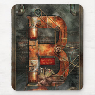 Steampunk - Alphabet - B is for Belts Mouse Pads