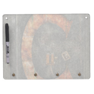 Steampunk - Alphabet - C is for Chain Dry Erase Board