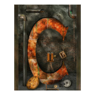 Steampunk - Alphabet - C is for Chain Flyers