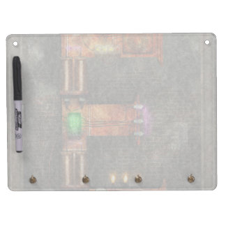 Steampunk - Alphabet - E is for Electricty Dry Erase Board