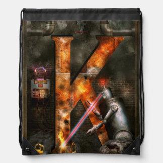 Steampunk - Alphabet - K is for Killer Robots Backpack