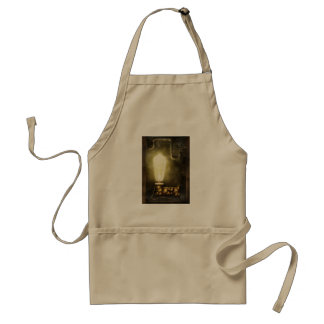 Steampunk - Alphabet - L is for Light Bulb Aprons