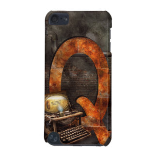 Steampunk - Alphabet - Q is for Qwerty iPod Touch (5th Generation) Cover