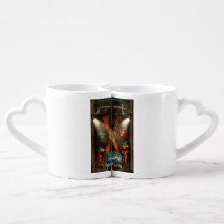 Steampunk - Alphabet - X is for Xenobiology Couples Mug