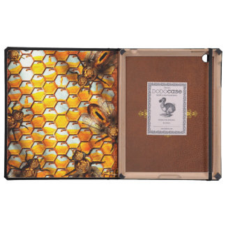 Steampunk - Apiary - The hive Case For iPad