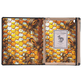 Steampunk - Apiary - The hive iPad Covers