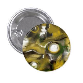 Steampunk Asphodel Button Badge