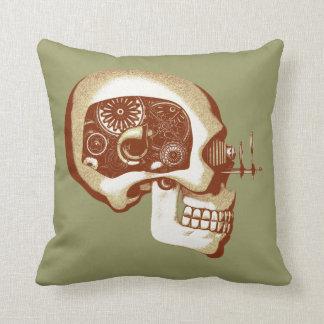 Steampunk Automaton #1C Cushion
