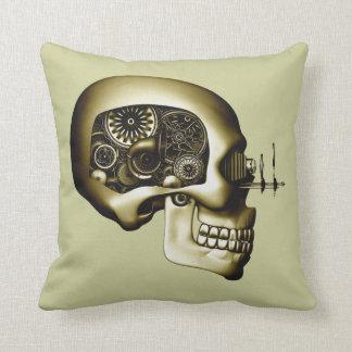 Steampunk Automaton #1D Cushions