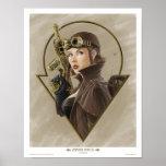 Steampunk Aviator Print