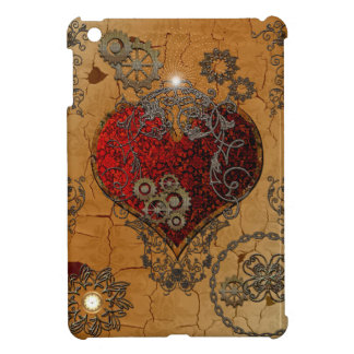 Steampunk, awesome heart cover for the iPad mini