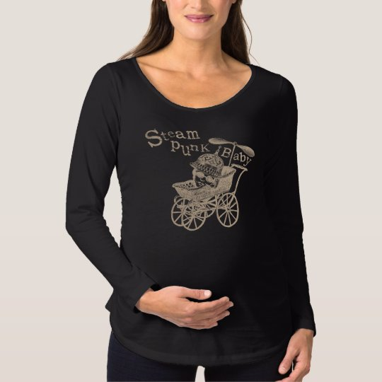Steampunk Baby Maternity T-Shirt