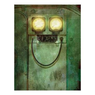 Steampunk - Be Happy Flyer Design