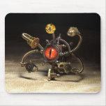 Steampunk Beholder Robot by Artist Daniel Proulx