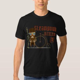 Steampunk biker tshirt