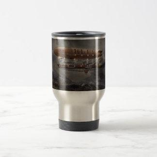 Steampunk - Blimp - Airship Maximus Travel Mug