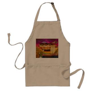 Steampunk - Blimp - Everlasting wonder Aprons