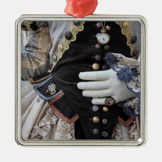 Steampunk bodice, Carnival, Venice Christmas Ornament