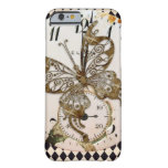 Steampunk Butterfly Round iPhone 6 Case