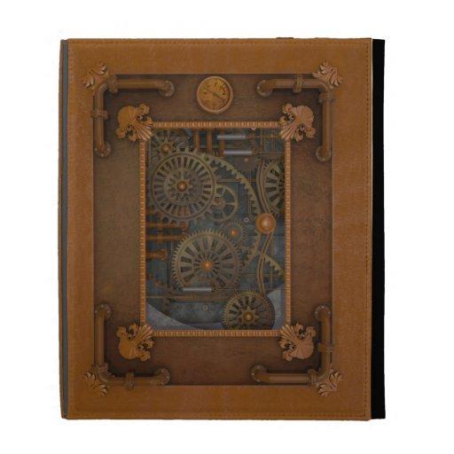 Steampunk iPad Folio Covers