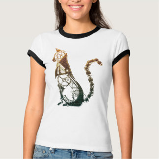 Steampunk cat tshirts