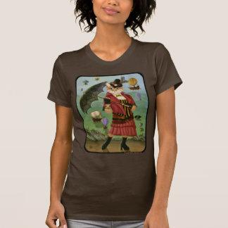 Steampunk Cat Victorian Gothic Fantasy Art Shirt