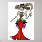 Steampunk Catrina, Dia de los Muertos poster
