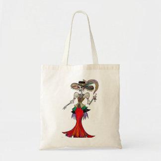 Steampunk Catrina / Dia de los Muertos Tote Bag