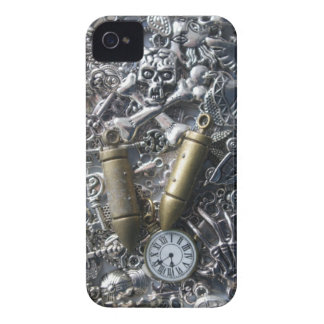 Steampunk charms iPhone 4 case