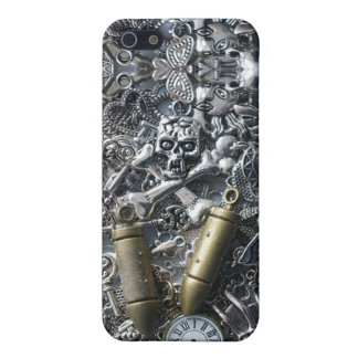 Steampunk charms iPhone 5 cover