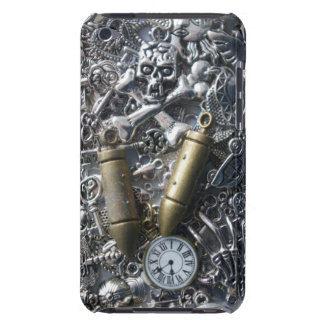 Steampunk charms iPod Case-Mate case