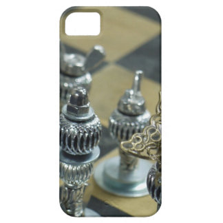Steampunk Chess Pieces Cell Phone Case