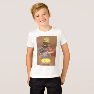Steampunk Christmas Tree Kid's T-Shirt