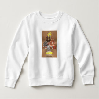 Steampunk Christmas Tree Toddler Jumper Sweatshirt