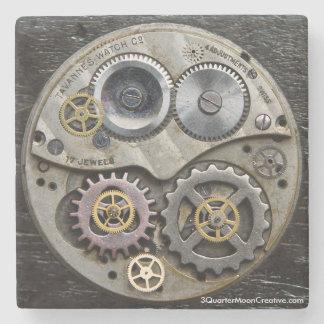 Steampunk Clock Gear Coaster