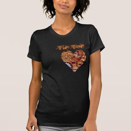 Steampunk Clock Heart Shirt
