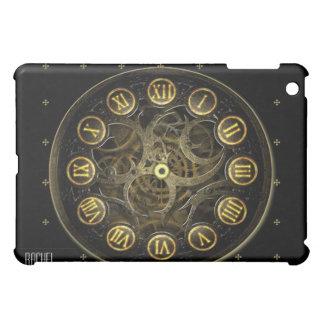 Steampunk Clock in Black and Gold iPad iPad Mini Case