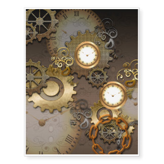 Steampunk, clocks and gears i