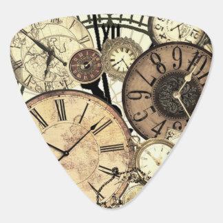 Steampunk Clocks Guitar Pick